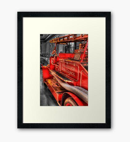 Old Timer Framed Print