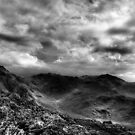 Towards Scafell Pike by Guy Carpenter