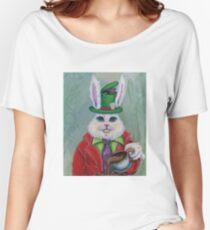 Hatter Rabbit Women's Relaxed Fit T-Shirt