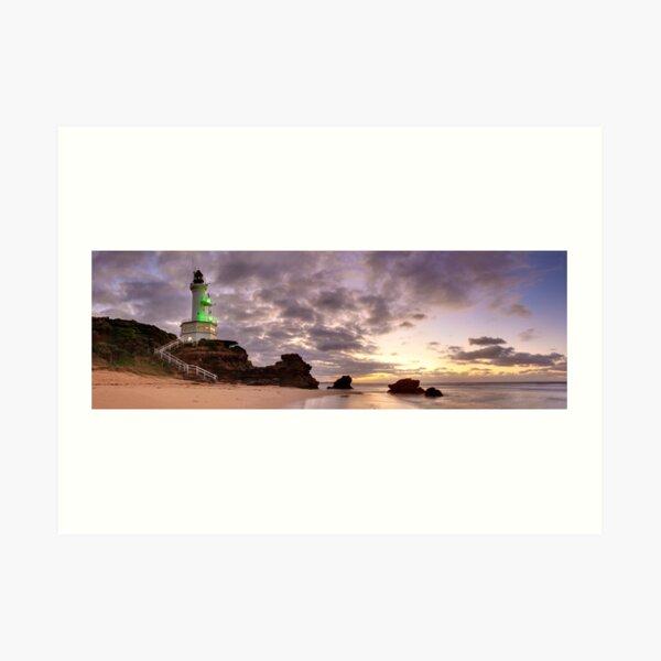 Point Lonsdale Lighthouse Pre-Dawn, Australia Art Print