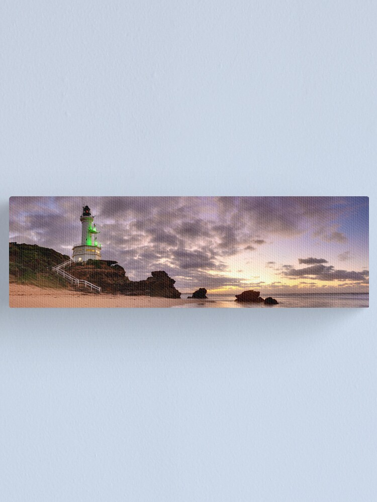 Alternate view of Point Lonsdale Lighthouse Pre-Dawn, Australia Canvas Print