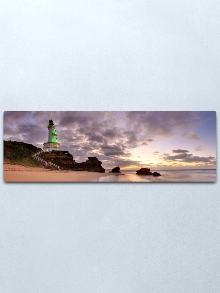 Alternate view of Point Lonsdale Lighthouse Pre-Dawn, Australia Metal Print