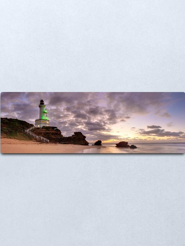 Alternate view of Point Lonsdale Lighthouse Pre-Dawn, Australia Metal Print