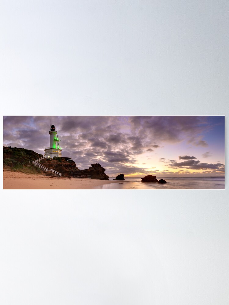 Alternate view of Point Lonsdale Lighthouse Pre-Dawn, Australia Poster