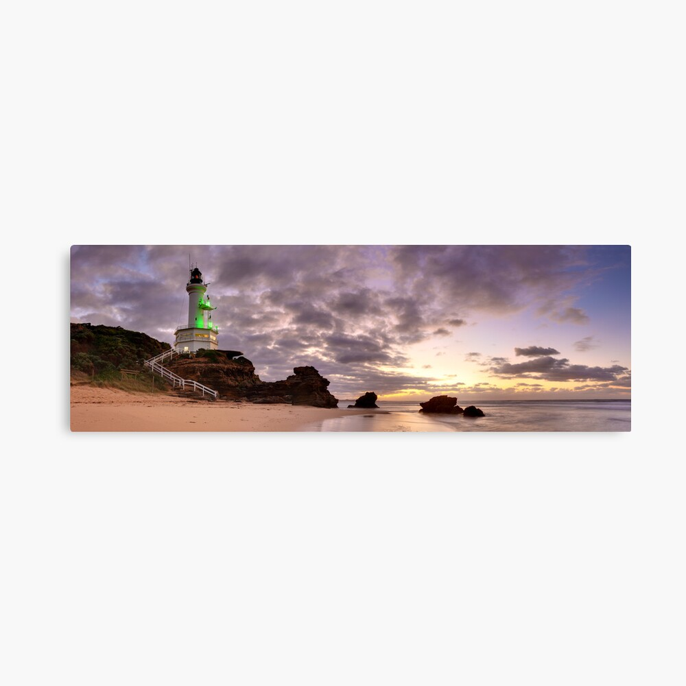 Point Lonsdale Lighthouse Pre-Dawn, Australia Canvas Print