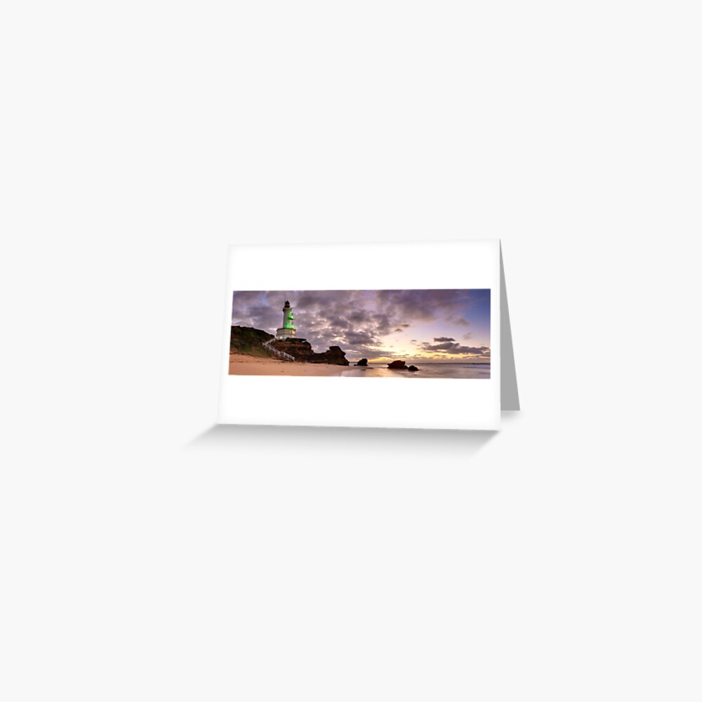 Point Lonsdale Lighthouse Pre-Dawn, Australia Greeting Card