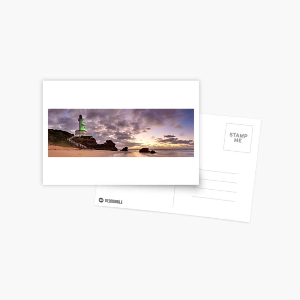 Point Lonsdale Lighthouse Pre-Dawn, Australia Postcard