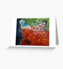 Flooded Plains Greeting Card