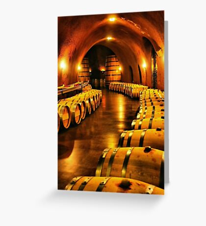 Inside the Winery Greeting Card