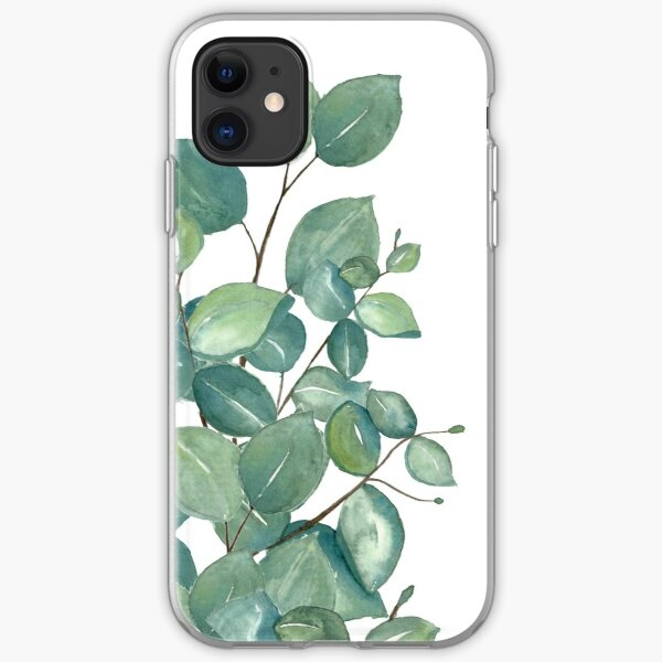 Eucalyptus Leaves  iPhone Soft Case
