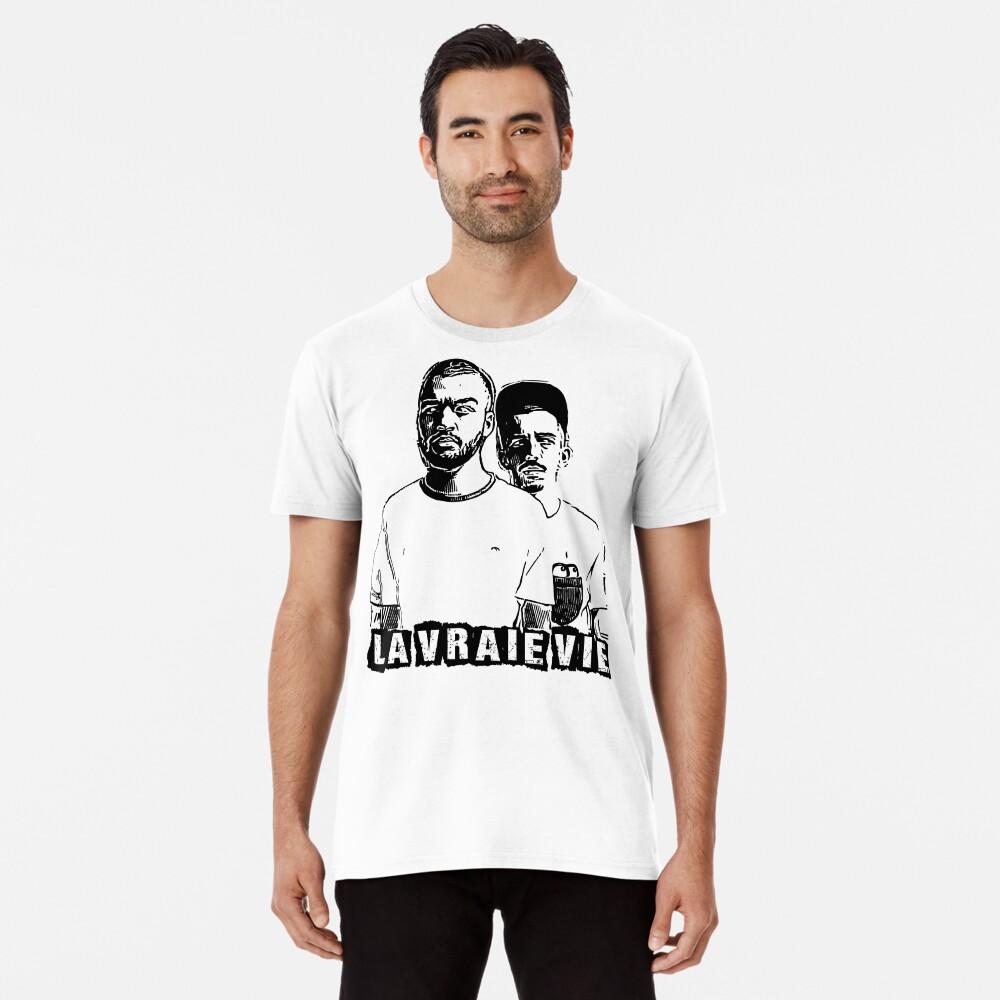 T-shirt premium «Bigflo et Oli la vraie vie»