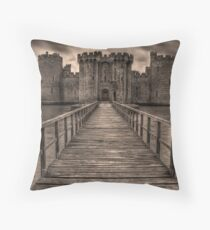 Bodiam Castle Throw Pillow