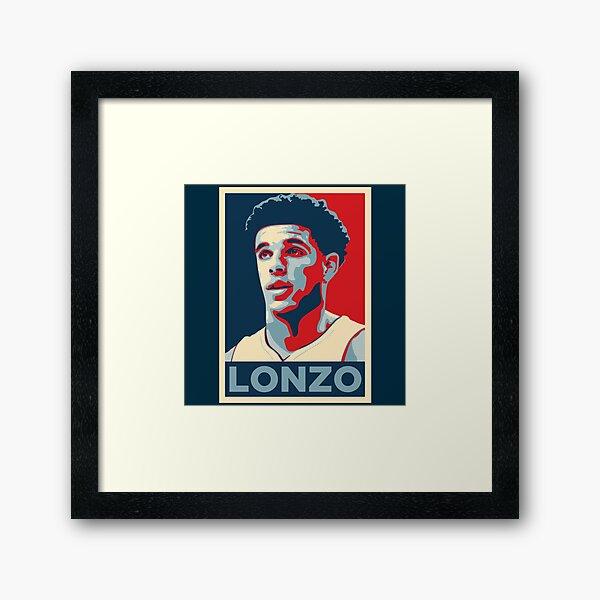 LB Framed Art Print