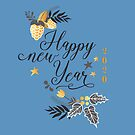 Decorative And Fun Happy New Year 2020 by hurmerinta