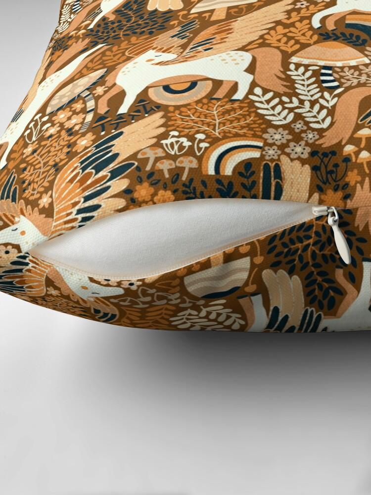 Alternate view of Cinnamon Pegasi  Floor Pillow
