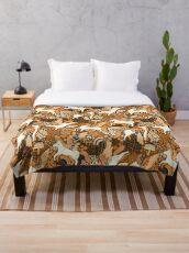 Cinnamon Pegasi  Throw Blanket
