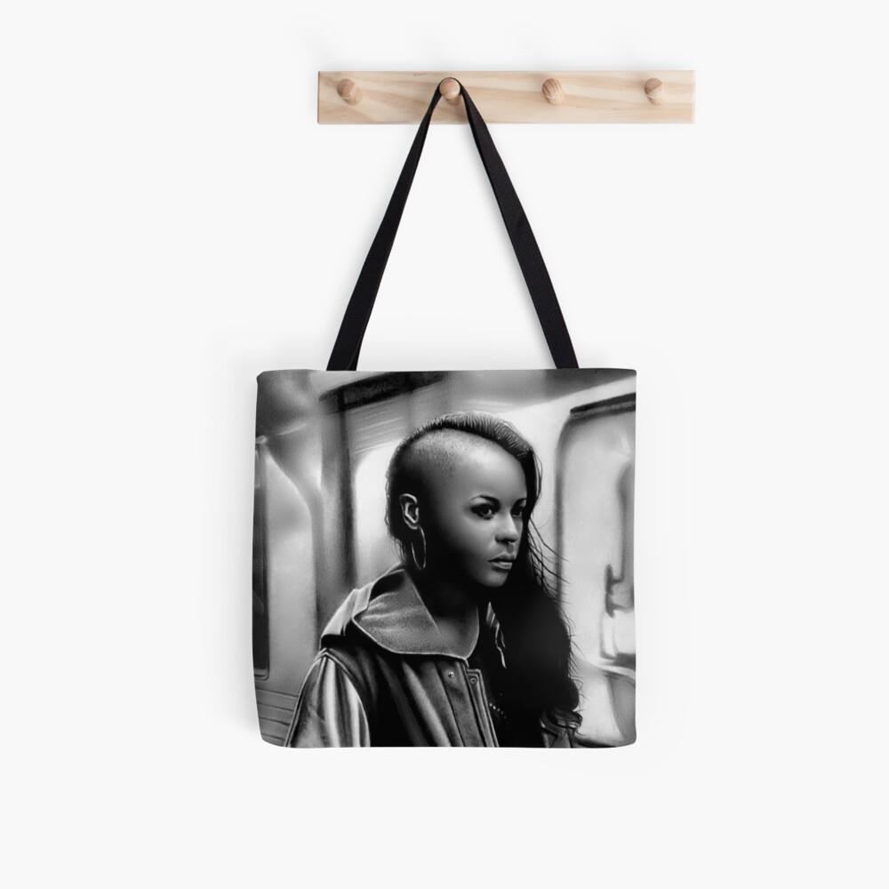 In Transit (Graphite drawing) Tote Bag