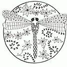 Dragonfly Tattoo by Kelly Robinson