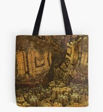 Escheristic Aztec City Tote Bag