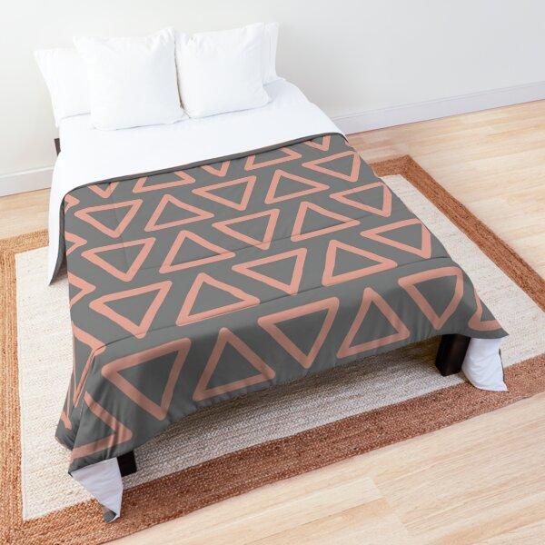 Trokutan (Coral) Comforter
