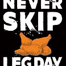 Savvy Turtle Never Skip Leg Day by SavvyTurtle
