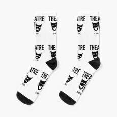 Theater is my sport - cool saying theater Socks
