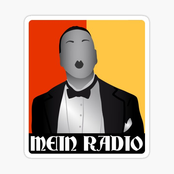 Mein Radio Sticker