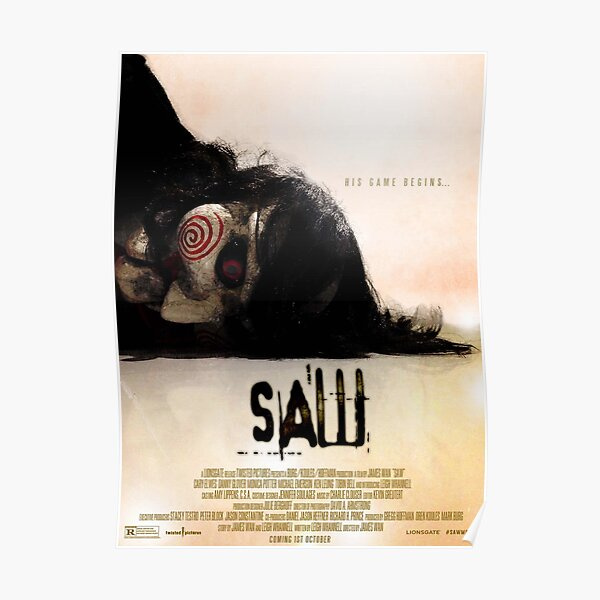 Saw 2004 Poster Poster