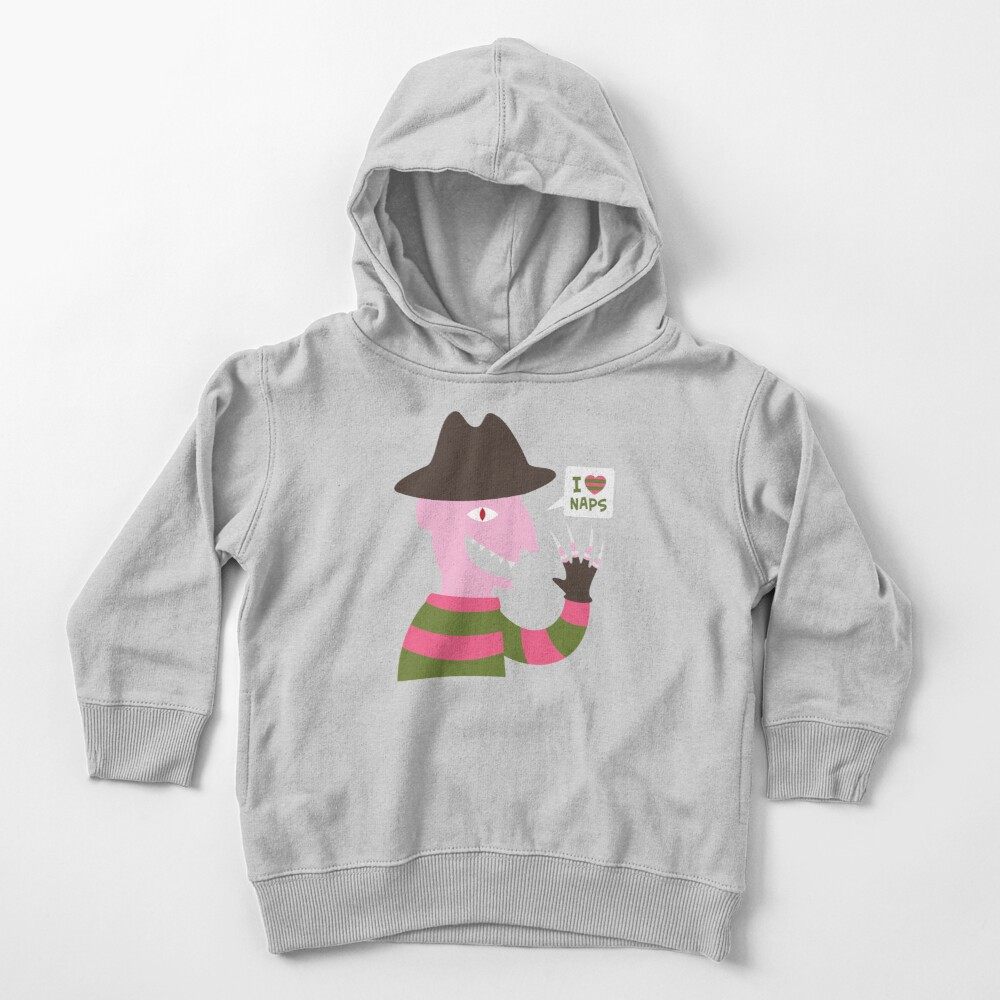 I Love Naps Toddler Pullover Hoodie