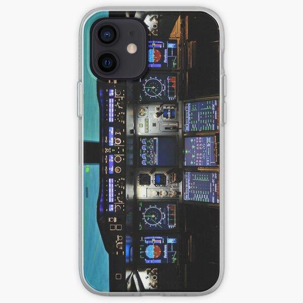 A380 Cockpit iPhone Soft Case
