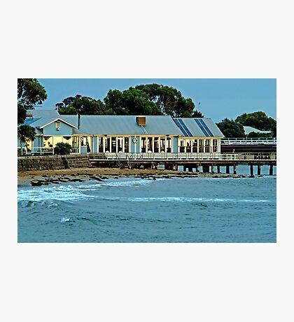 Sunrise,Barwon Heads Boat Shed Cafe Photographic Print