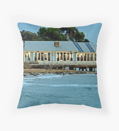 Sunrise,Barwon Heads Boat Shed Cafe Throw Pillow