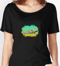 Abstract Female On The Beach Women's Relaxed Fit T-Shirt