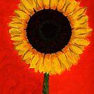 Neon POP Sunflower by Anne Gitto