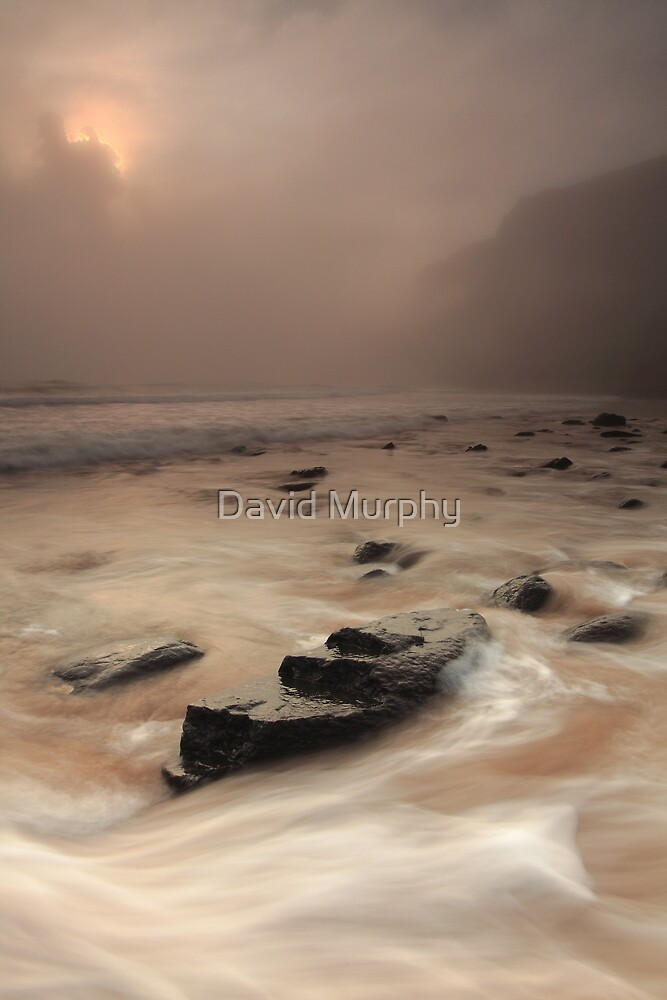 the sea, the mist... by David Murphy