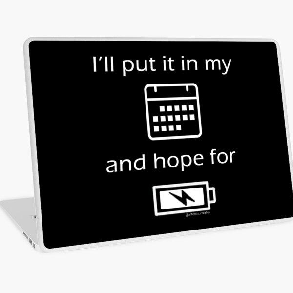 Hope For Energy Laptop Skin