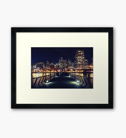 Pier 14 - San Francisco Framed Print