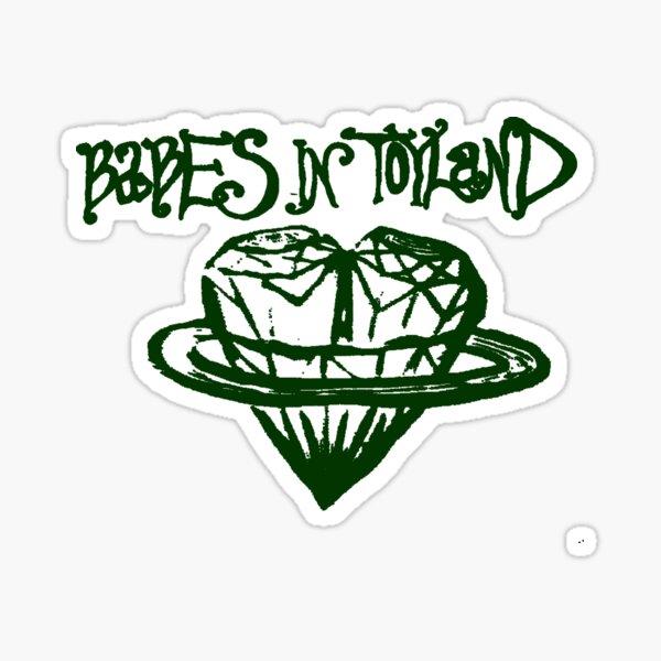 'vomit my heart' (green) Sticker