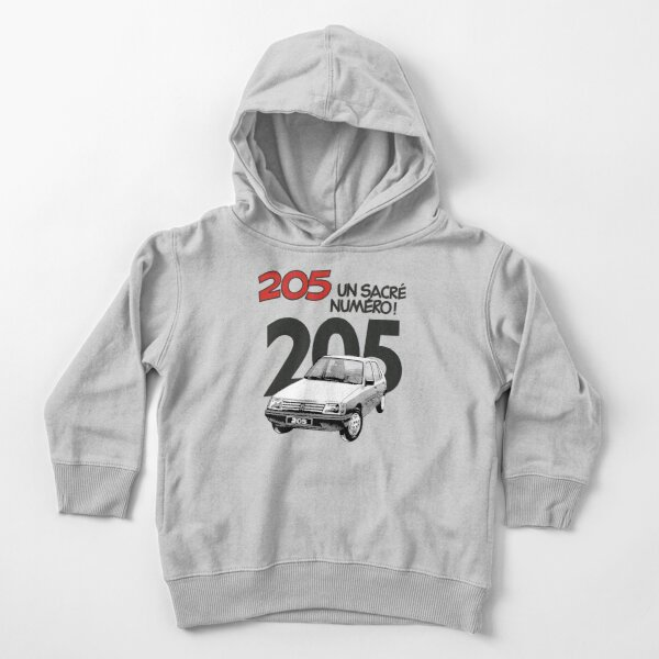PEUGEOT 205 (WHITE) Toddler Pullover Hoodie
