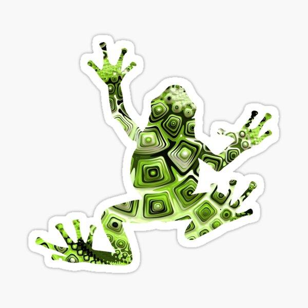 Malachite frog Sticker