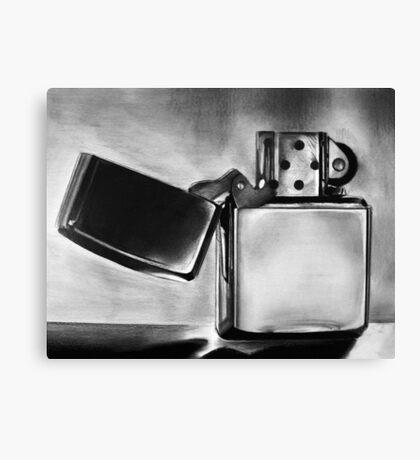 Zippo Lighter Canvas Print