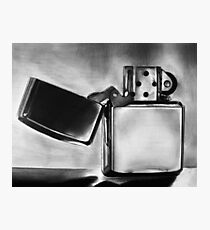 Zippo Lighter Photographic Print