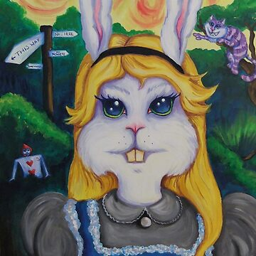 Rabbit Alice by Blossombrooks