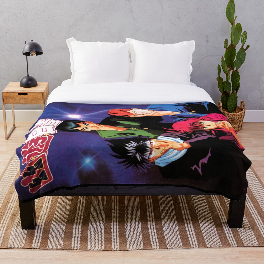 Yu Yu Hakusho Throw Blanket