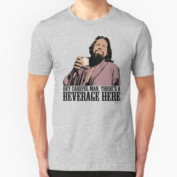 The Big Lebowski respecter T-shirt blanc homme