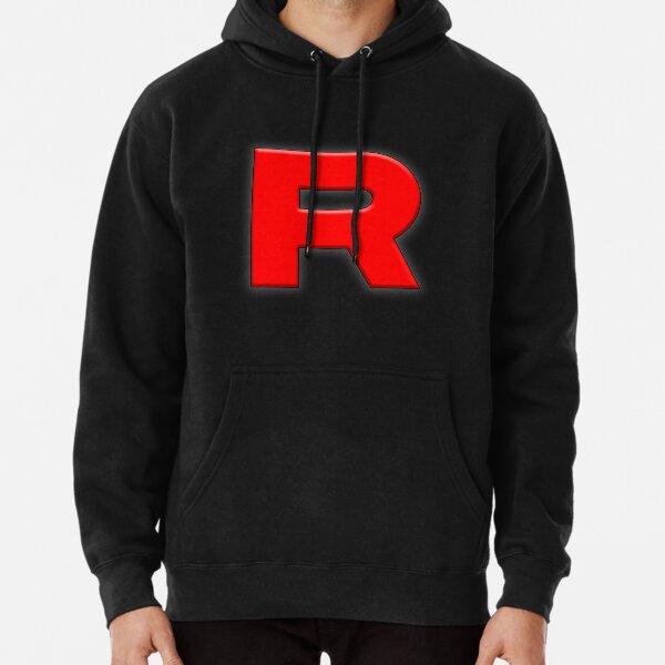 'R' Team Rocket Black Pullover Hoodie