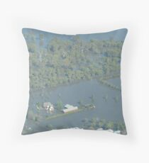 Stranded where's the boat? Throw Pillow