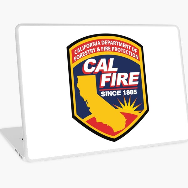 Cal Fire Logo Laptop Skin
