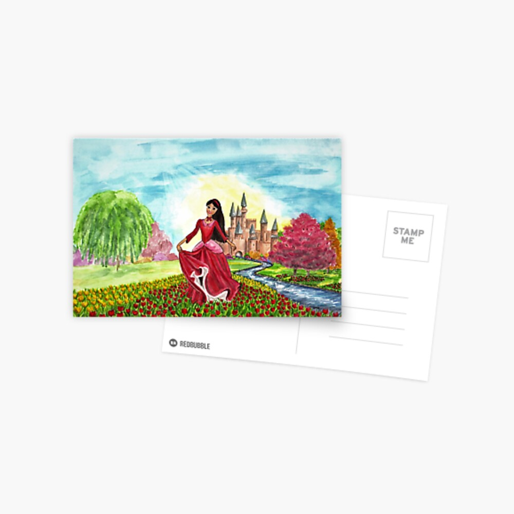 Princess Precious at Shining Palace - Postcard Postcard