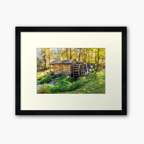 Reeds Spring Mill Framed Art Print